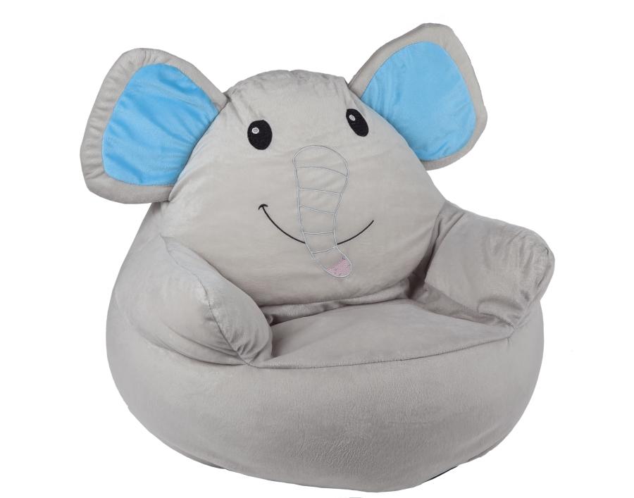 sitzsack babygo kinder elefant sitzkissen bodenkissen m bel sack sessel sitzen ebay. Black Bedroom Furniture Sets. Home Design Ideas