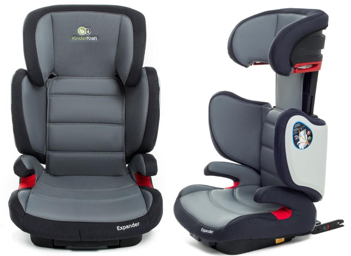 isofix kinderautositz autositz kindersitz kinderkraft expander grau 15 36 kg. Black Bedroom Furniture Sets. Home Design Ideas
