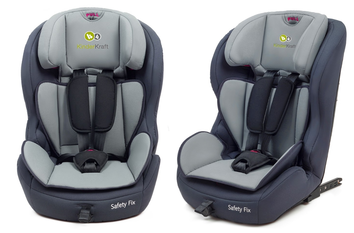 isofix autokindersitz autositz kinderkraft safetyfix blau. Black Bedroom Furniture Sets. Home Design Ideas